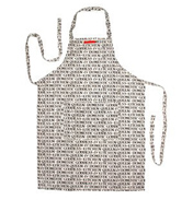 Black Toast Apron