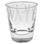 Black Toast Glass Tumbler