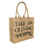 Emma Bridgewater Black Toast Jute Bag