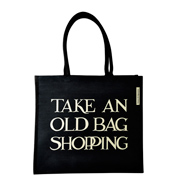 Emma Bridgewater Black Toast Old Bag Jute Bag