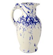 Blue Splatter Porter Vase