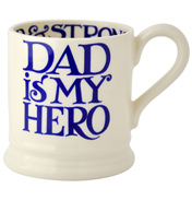 Emma Bridgewater Dad is My Hero 1/2 Pint Mug