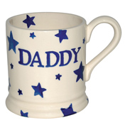 Emma Bridgewater Starry Skies DADDY 1/2 Pint Mug