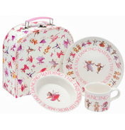 Dancing Mice Melamine Set in Paper Case
