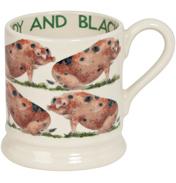 Oxfordshire Sandy & Black Pig 1/2 Pint Mug