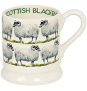 Scottish Blackface Sheep 1/2 Pint Mug