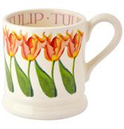 Pink Tulip 1/2 Pint Mug