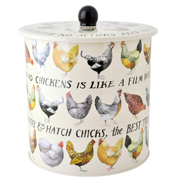 Hens Biscuit Barrel