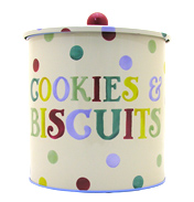 Polka Dot Biscuit Barrel