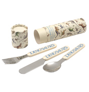 Pottersaurus Cutlery Set in a Tube