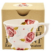 Rose & Bee Tiny Teacup Tree Decoration (Boxed)