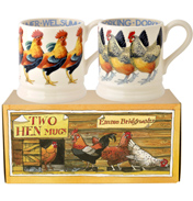 Welsummer & Dorking Hen 1/2 Pint Mugs