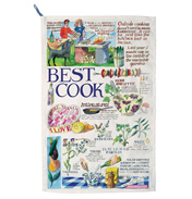 Year in the Country Best Cook Tea Towel