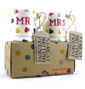 Emma Bridgewater Polka Hearts Mr & Mrs 1/2…