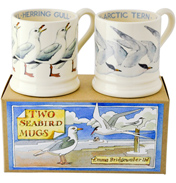2x Seabird 1/2 Pint Mugs In A Box
