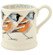 Bearded Tit ½ Pint Mug