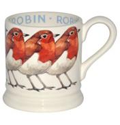 Emma Bridgewater Garden Birds Robin 1/2 Pint Mug