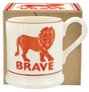 Brave Lion ½ Pint Mug