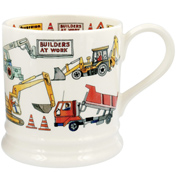Builders at Work 1 Pint Mug