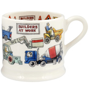 Builders at Work Baby Mug
