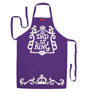 Dad is King Apron