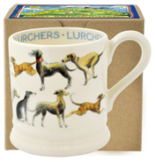 All Over Lurcher ½ Pint Mug