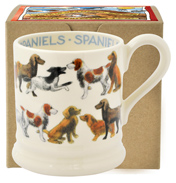 All Over Spaniels ½ Pint Mug