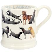 Labradors All Over ½ Pint Mug