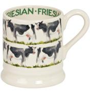 Friesian Cow 1/2 Pint Mug