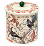 Game Birds Biscuit Barrel
