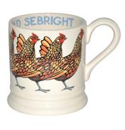 Gold Sebright Mug