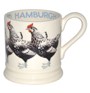 Hamburgh Red (Silver Spangled) Mug