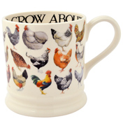 Hen & Toast 1 Pint Mug
