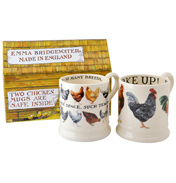 Hens 1/2 Pint Mugs in a Box (Set of 2)
