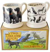 Labrador Set of 2 1/2 Pint Mugs
