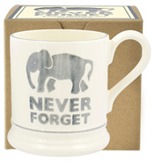 Never Forget Elephant ½ Pint Mug