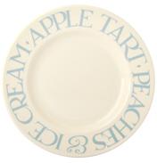"Pale Blue Toast 8½"" Plate"