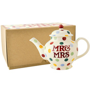 Mr & Mrs 2 Cup Teapot