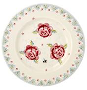 "Rose & Bee 8½"" Plate"