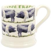 Saddleback Pig ½ Pint Mug