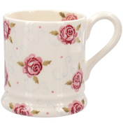 Tiny Scattered Rose ½ Pint Mug