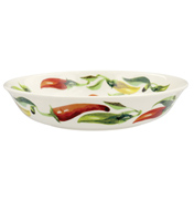 Vegetable Garden Peppers Small Pasta Bowl
