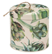 String Round Storage Tin
