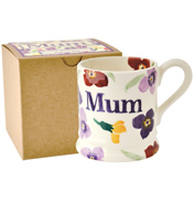 "Emma Bridgewater Wallflower ""Mum"" 1/2 Pint Mug…"