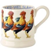 Welsummer Hen 1/2 Pint Mug