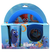 Finding Dory 3 Piece Plate Set