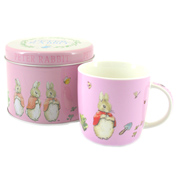 Flopsy, Mopsy & Cottontail Mug in Tin