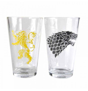 Set of Two House Sigil Glasses