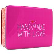 'Handmade with Love' Rectangular Storage Tin