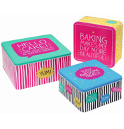 Set of 3 Square Cake Tins